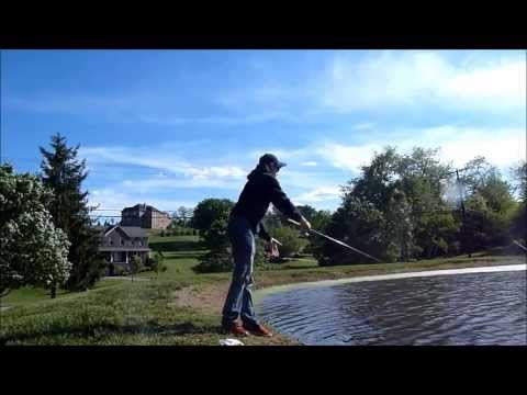 Pond Fishing with Penfishingrods.com
