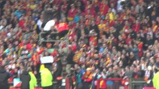 preview picture of video 'RC Lens - Arles clapping.....'