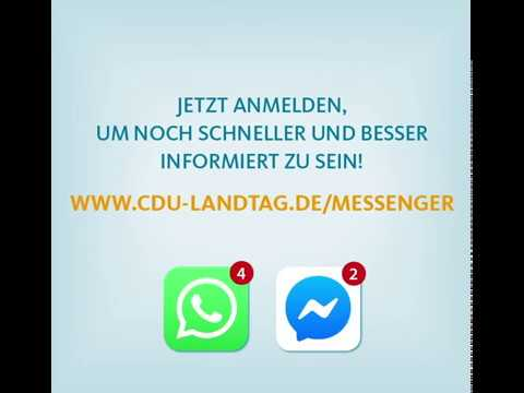 WhatsApp-Service der CDU-Fraktion