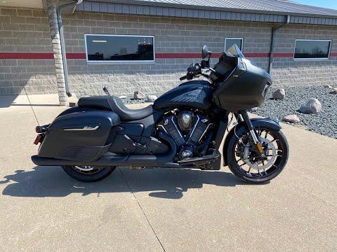 2020 Indian Challenger® Dark Horse® in Ottumwa, Iowa - Video 1