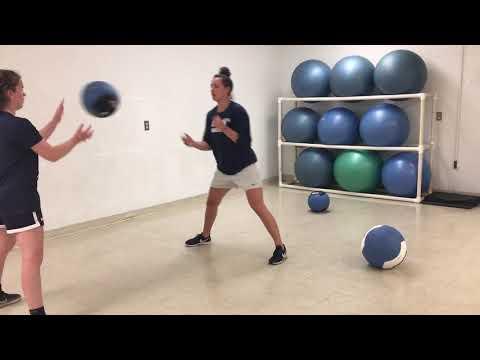 Partner Med Ball Side Toss