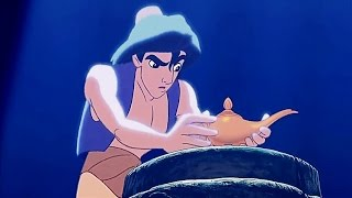 "ALADDIN (1992) Scene: ""Your eternal reward""/Cave escape."
