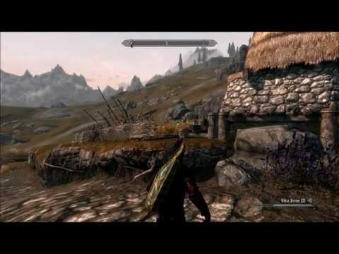 Skyrim: Hilarious Trick Shots [Video]