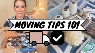 HOW TO MAKE MOVING EASIER | ORGANIZED PACKING TIPS | MOVING 101