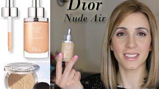 Dior Nude Air Serum Foundation   Review and Demo   Josephine Fusco