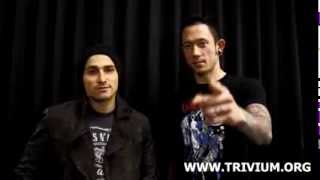 Trivium - Farewell to the UK, Hello Europe