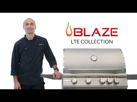 Blaze LTE Gas Grill Overview | BBQGuys.com