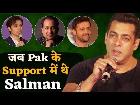 Pulwama: जब Salman ने किया था Pakistan का खुलकर Support, Media पर भी गए थे भड़क
