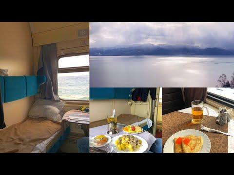 Trans-Siberian Railway Winter Journey - part 4: Ulan-Ude - Lake Baikal - Irkutsk on Train № 001M