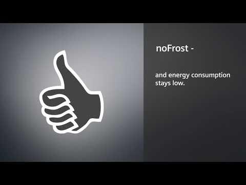 Siemens Freestanding American Style Refrigeration KA93NVIFP - Stainless Steel Doors Video 1