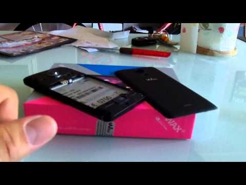 Wiko Wax 4G Unboxing... No speaking !