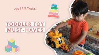 Toddler Toy Must-Haves (Mostly Amazon Products!) | Susan Yara