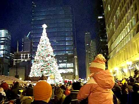 Christmas tree lighting sends green roof up in smoke