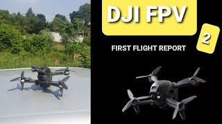 DJI FPV: First Flight Experience - River Stream 4K (Part 2)