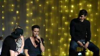 Uncle Joey, Are you ok? (Joey McIntyre at Foxwoods)