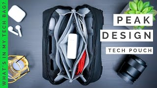 What's in My Tech Bag 2019? (Peak Design Tech Pouch Review) [4K]