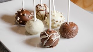 HOW TO MAKE CAKE POPS  (RED VELVET)