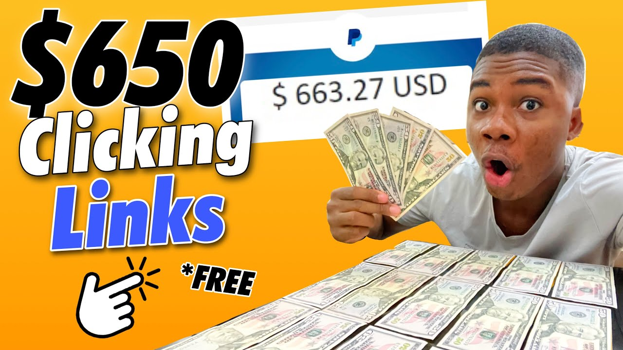 Make money $650 Paypal Cash Simply Clicking Hyperlinks! * FREE * (Generate Income Online) thumbnail