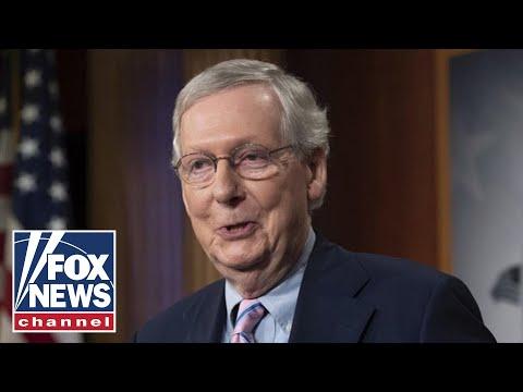 Live: Senate Republicans speak to press