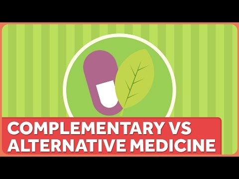 "Video We shouldn't use labels like ""Alternative"" and ""Conventional"" Medicine"