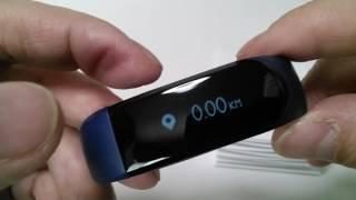 LETSCOM スマートブレスレット IP67防水 IPhone / Android対応