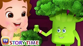 "ChuChu says ""Yes Yes Vegetables"" - ChuChuTV Storytime Good Habits Bedtime Stories for Kids"