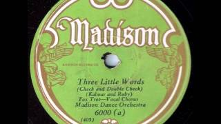 Three Little Words - Madison Dance Orchestra