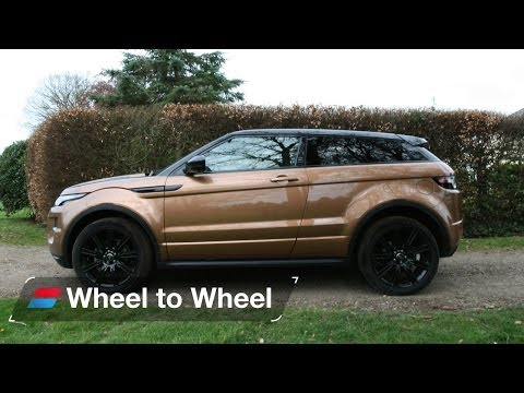 Land Rover Range Rover Evoque vs Mercedes GLA vs Volkswagen Tiguan video 1 of 4