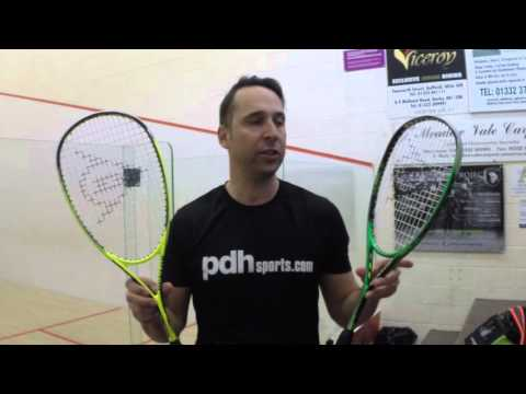 Dunlop Precision Elite and Precision Ultimate 2016 Squash Racket Review by PDHSports.com