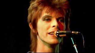 David Bowie   Starman   Live 1972 (rare Footage  2016 Edit)