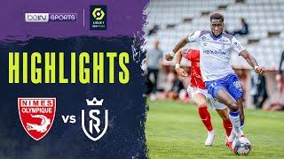 Nîmes 2-2 Reims Pekan 35