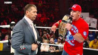 John Cena On The Most Valuable Lesson He Learned From Vince McMahon