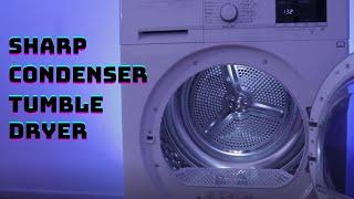 SHARP Condenser Tumble Dryer REVIEW, KD-GCB8S7GW9-EN