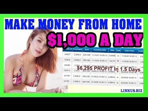 How To Make Money Online Fast – Make Money From Home 2017 $1,000 Per Day