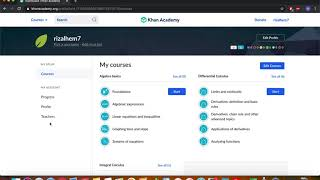 Part I: How to Sign Up for a Class on Khan Academy (with a class code)
