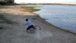 preview picture of video 'BMX en santo tome'