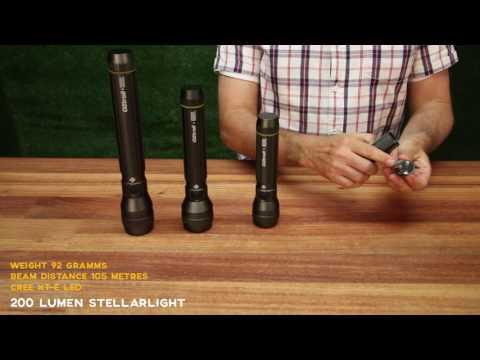 StellarLight LED Torch Range