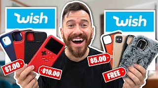I Bought All The iPhone Cases On Wish!!