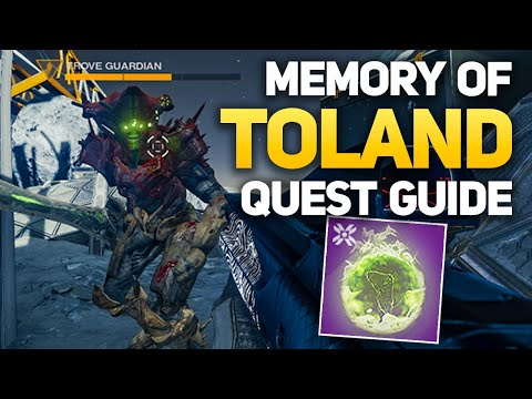 Trove Guardian Location & Hive Relic Sword - Memory of Toland (Week #3 Eris Morn Quest)