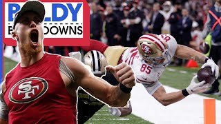 How the 49ers Won the Game of the Year vs. the Saints | Baldy Breakdowns