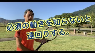 テニスまずは必須の動きから窪田テニス教室
