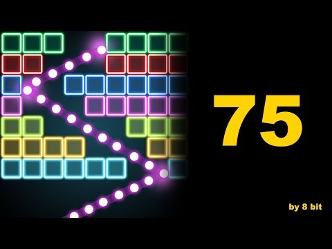 Bricks Breaker Quest - 75 level cleared, 3 stars