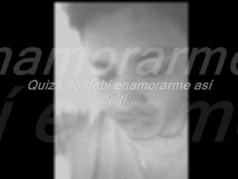 No debi enamorarme  -Demo- Gustavo S. Lechuga