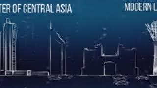 Инфографический ролик об Астане для медиа-стены на IFSWF-2017