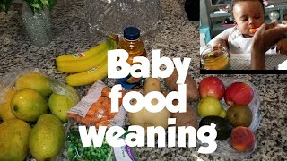 Stage 1 baby food || Homemade baby food || Baby's first solid at 4 months || Baby food weaning