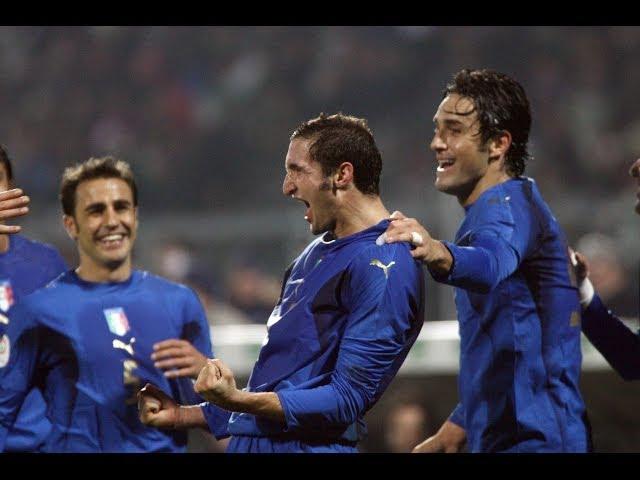 Italia-Far Oer 3-1 (21 novembre 2007)