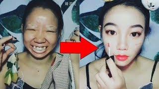 5 девушек ДО и ПОСЛЕ макияжа!