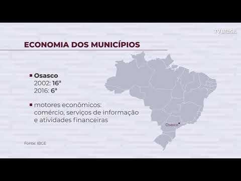 25% das riquezas brasileiras concentradas em seis cidades