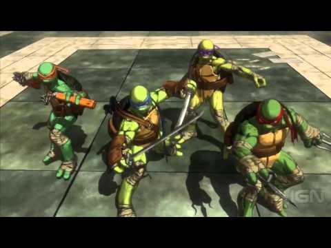 Teenage Mutant Ninja Turtles : Mutants in Manhattan - Gameplay de Teenage Mutant Ninja Turtles: Mutants in Manhattan