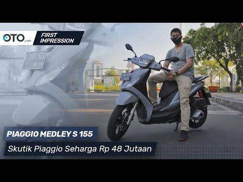 Piaggio Medley S 155 | First Impression | Skutik Piaggio Seharga Rp 48 Jutaan | OTO.com
